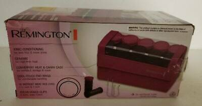 £16 • Buy Remington Compact Ceramic Ionic Hot Rollers In Travel Case J Clips Instant Heat