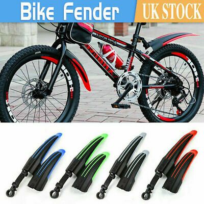 £5.39 • Buy Bicycle Cycling Front Rear Mudguards Mud Set Mountain Bike Tire Fenders DIY