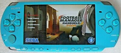 £100 • Buy Sony PSP 3003 Rare Turquoise, Case, Charger Game & Box