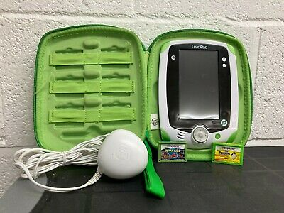 £29.99 • Buy LeapPad Leap Frog Explorer Console With Case, Charger & 2 Games
