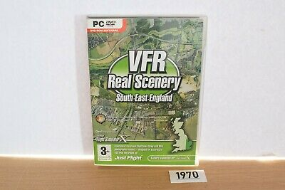 £4.99 • Buy Just Flight VFR Real Scenery South East England Add On For FSX