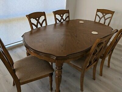 AU500 • Buy Dining Table With Chairs 6 Seater