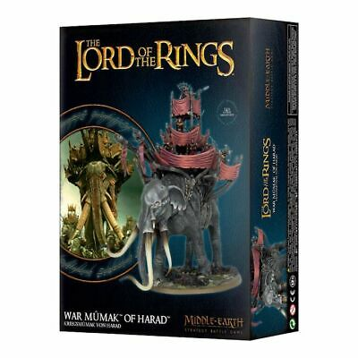 £55.25 • Buy Middle Earth  Lord Of The Rings: War Mumak Of Harad - GW-30-24