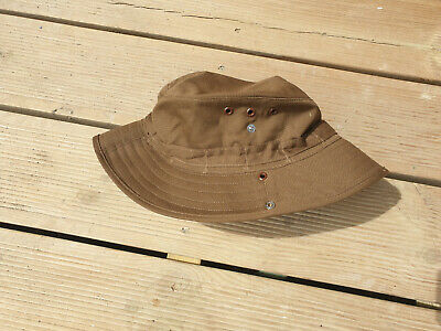 £22.50 • Buy South African Sadf Nutria Brown Bush / Boonie Hat Size 58 - Large Size