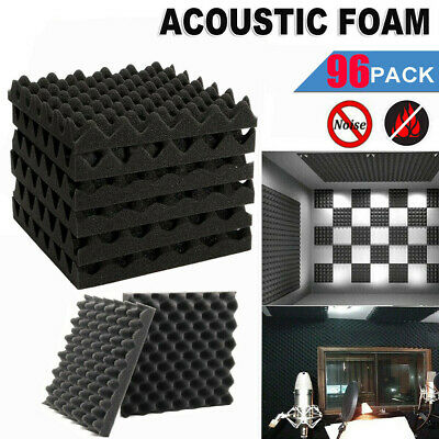 £26.99 • Buy Acoustic Wall Panel Tiles Studio Sound Proofing Insulation Foam Pads 30x30x5cm