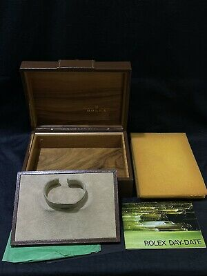 £180.24 • Buy Rolex 71.00.06 Brown Leather Buckle Display Storage Day Date President Watch Box