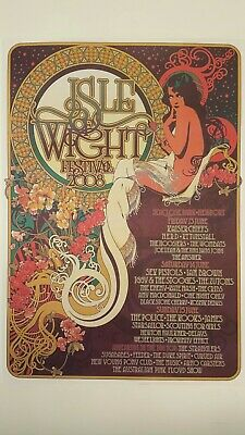 £9.99 • Buy Isle Of Wight Festival 2008 A3 Poster Iow