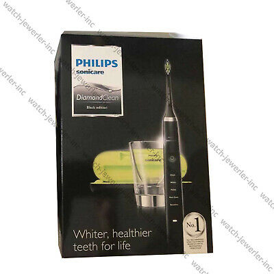 AU168.90 • Buy NEW Philips Sonicare Diamond Clean Electric Rechargeable Toothbrush BLACK