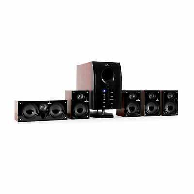 £77.99 • Buy 5.1 Surround Sound Active Speaker System Home Audio Music Remote 95 W RMS Black