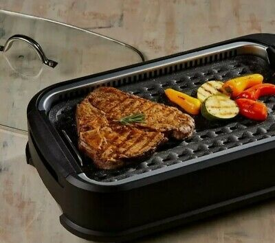 £39.99 • Buy Power Air Smokeless Grill, Indoor Electric Grill BBQ 1500W, 120-230C