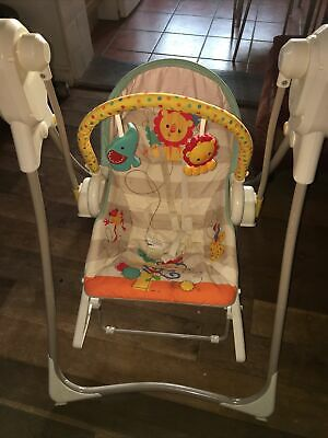 £15 • Buy Fisher-Price BFH06 3-in-1 Swing-N-Rocker, New-Born Baby Swing Chair And Bouncer