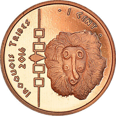 AU8.25 • Buy [#365394] Coin, United States, 1 Cent, 2016, Iroquois, MS(64), Copper Plated