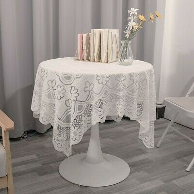 £6.55 • Buy Coffee Table Table Cover Tablecloth Cushions & Covers Home Decor Household White