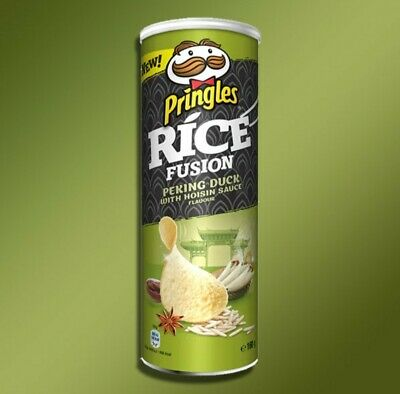 £7.49 • Buy 6 X Pringles Rice Fusion Peking Duck With Hoisin Sauce Flavour BB 08/11/2021
