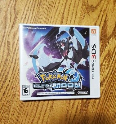 $39.95 • Buy NEW Nintendo 3DS POKEMON ULTRA MOON Version Video Game US Release Sealed