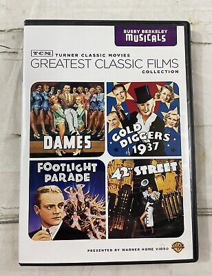 £9.45 • Buy TCM Greatest Classic Films Collection: Busby Berkeley Musicals (DVD, 2010,...