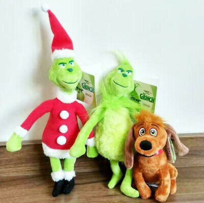 £6.99 • Buy Grinch Plush Doll How The Grinch Stole Stuffed Christmas Kids Toys Gift