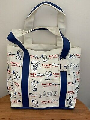 £12 • Buy Snoopy Zipped Lined Tote Bag