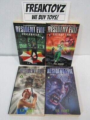 AU46.60 • Buy Resident Evil 4 Book Lot, Code: Veronica Nemesis Underworld By S. D. Perry