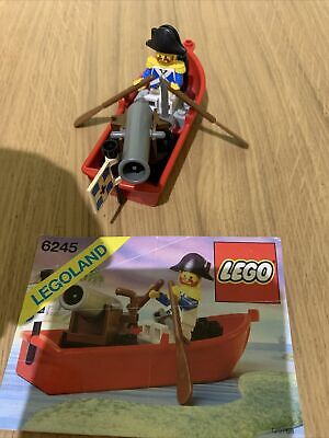 £15 • Buy Vintage Lego Pirates 6245 - Harbour Sentry 1989 - Instructions Included