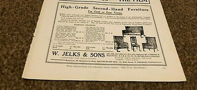 £8 • Buy (plps7) Advert 5x8  W. Jelks & Sons : High Grade Second Hand Furniture