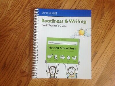 £14.46 • Buy GET SET FOR SCHOOL Readiness & Writing: Pre-K Teacher's Guide Spiral Book NICE