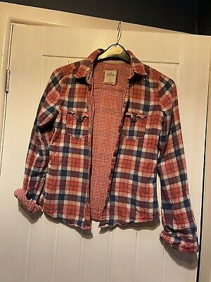 £12.50 • Buy Hollister Womens Checked Shirt Size UK Small