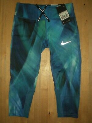 £19.99 • Buy Womens Nike Tight Capri Running / Gym Leggings Xs - Extra Small  *new With Tags*