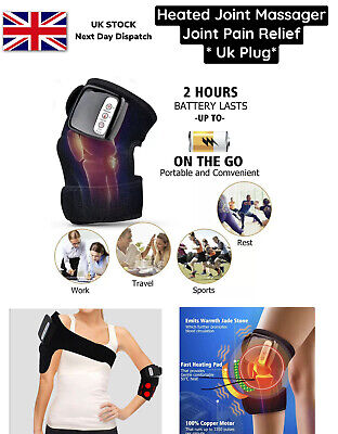 £99.99 • Buy Knee Joint Massager Heat Physiotherapy Therapy Pain Relief Vibration Machine UK