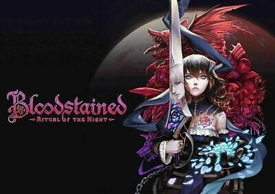 £6.75 • Buy Bloodstained: Ritual Of The Night PC Game Steam Key Fast Delivery!