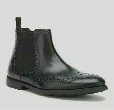 £39.99 • Buy Clarks Men's Ronnie Top Leather Chelsea Boots - Black Size 10