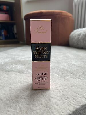 £7.30 • Buy Too Faced Born This Way Matte 24 Hour Foundation, Light Beige, RRP £29