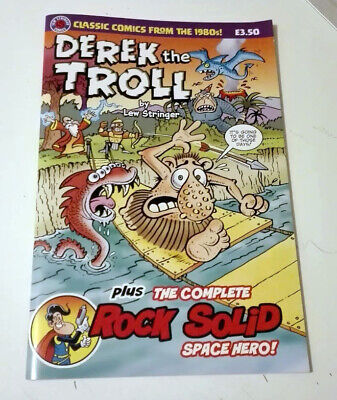 £6 • Buy DEREK THE TROLL SPECIAL! NEW UNREAD CONDITION. SIGNED By Lew Stringer