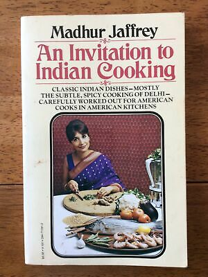£8.72 • Buy An Invitation To Indian Cooking (1973) Madhur Jaffrey