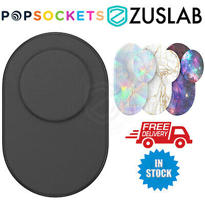 AU42.70 • Buy Genuine PopSockets PopGrip Magnetic Phone Grip Stand With Swappable Top