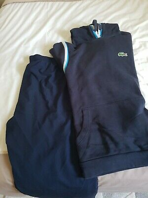 £20 • Buy Lacoste Tracksuit Bottoms XXL And Hoodie XXL Both Size 7