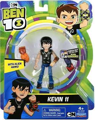£24.89 • Buy Ben 10 KEVIN 11 With Alien Arms Figure Playmates Toys Brand New