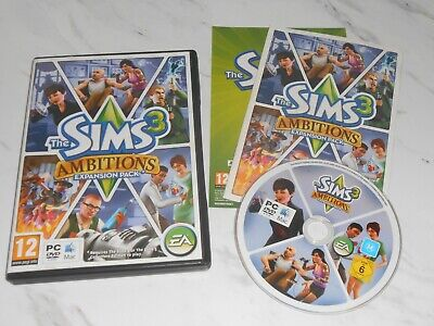 £4.75 • Buy The Sims 3: Ambitions Expansion (PC: Mac, 2010) With Booklet ** FAST DISPATCH **