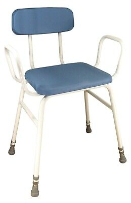 £25 • Buy Aidapt Astral Perching Stool With Arms And Padded Back - VG865 - New