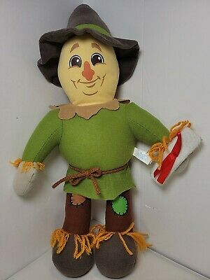 £13.09 • Buy 2012 16  Tall Wizard Of Oz Scarecrow Doll Plush Toy By Toy Factory