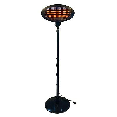 £44.75 • Buy Electric Patio Heater Outdoor Garden Heating Free Standing Outside Heater 2000w