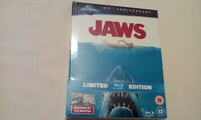£3.95 • Buy Jaws (1975) Steven Spielberg Oop Blu Ray Limited Edition Digibook New Sealed