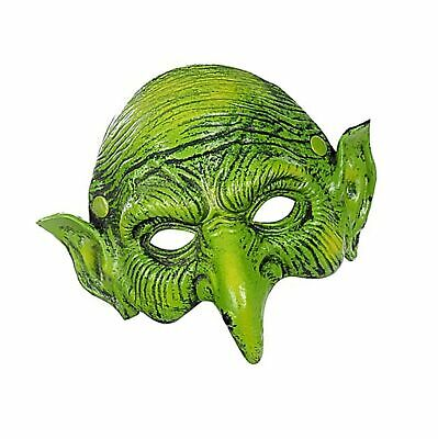 £12.51 • Buy Fox Mask Halloween Cosplay Costume Half Face Animal Party Cat Masks Green
