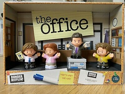 £16 • Buy Fisher Price Little People The Office Dunder Mifflin Figures Dwight Schrute