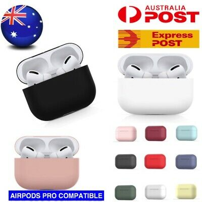 AU4.90 • Buy Apple AirPods PRO 3 Silicone Gel Case Shockproof Protective Skin Cover AirPod 3