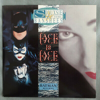 £6.20 • Buy Siouxsie And The Banshees - Face To Face 7  Single 1992 Batman Returns EX/EX