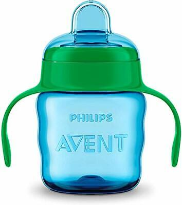 £6.26 • Buy Philips Avent Easy Sip Spout Cup With Handle, 200 Ml - Blue/Green - SCF551/15