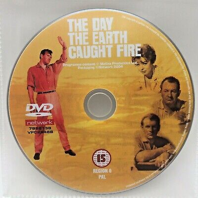 £5.95 • Buy The Day The Earth Caught Fire (2001 DVD) - Disc Only