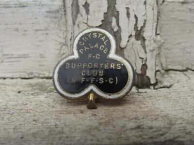 £150 • Buy Rare Vintage Crystal Palace Fc Football Club Supporters Club Badge H.w Miller