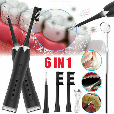 AU25.90 • Buy Electric Ultrasonic LED Scaler Tooth Polishing Cleaner Oral Teeth Cleaning Set
